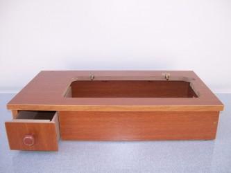 Base para máquina de costura doméstica color:Bronze Tamanho:Único