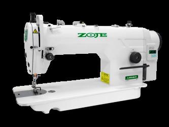 Máquina de costura Reta Industrial Zoje com Motor Direct Drive e parada de agulha,completa
