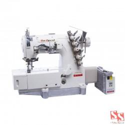 Máquina de Costura Industrial Galoneira c/ Direct Drive - SS-500DJ-01-GB 220V - Sun Special