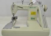 Máquina de costura Industrial de braço BC928,ponto corrente,3 agulhas,3500RPM - Bracob