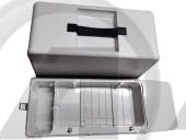 Baú de acrílico para máquina doméstica Tensão/Voltagem:Não se aplica Voltagem:Não se aplica color:Cinza Tamanho:Único