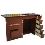 Gabinete Luxo para máquina de costura com 5 gavetas