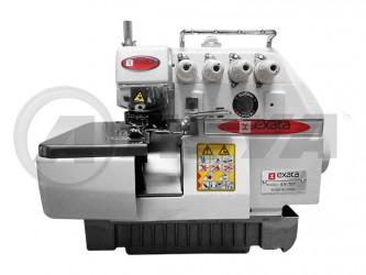 Máquina de costura Interloque Industrial Bitola Média marca Exata EX-757 Completa
