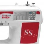 Máquina de bordar doméstica SS900 - Sun Special Tensão/Voltagem:Trifásico Voltagem:Trifásico color:Branco Tamanho:Único