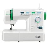 Máquina de Costura Doméstica Elgin Decora Mais JX-2011 Portátil