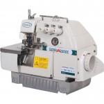 Máquina de Costura Industrial Overlock, 3 fios 5500ppm, Protetor de agulha móvel MK-700-3 - Mega Mak