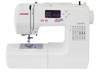 Máquina de costura doméstica Eletrônica Janome 2018DC Bivolt,18 tipos de pontos
