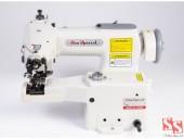 Máquina de Costura Industrial p/ Barra/Ponto Invisível SS101 - Sun Special