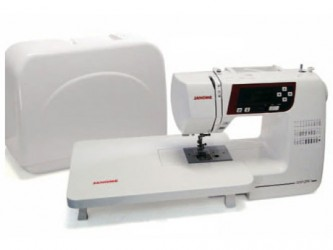 Máquina de costura doméstica Eletrônica Janome 2030QDC Bivolt,30 tipos de pontos