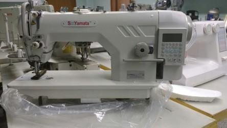 Máquina de Costura Industrial Reta Eletrônica c/ Corte de Linha - Yamata