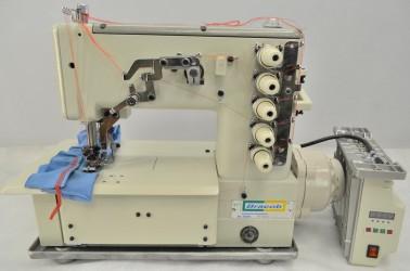 Máquina de Costura Galoneira Industrial Bracob BC-5000 Completa Direct Drive AT/Bivolt