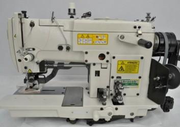 Máquina De Costura Industrial Tipo Caseado 1 Agulha Bracob BC781