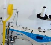 Máquina de Costura Reta Eletrônica A4 com Aparelho de Fazer Frufru - Jack