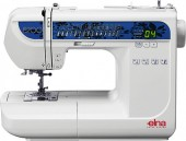 Máquina de costura doméstica Eletrônica Elna 5200,30 tipos de pontos