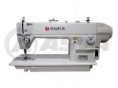 Máquina de costura Reta Industrial marca Exata EX-6150MD Com motor Direct Drive completa