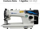 Máquina de Costura Reta Semi Eletrônica Com motor Direc Drire- SA-MQ1-Sansei