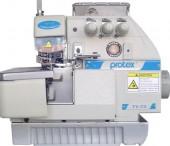 Máquina de Costura Industrial Overlock Ponto Corrente TY73 Protex