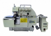 Máquina de Costura Industrial Overlock c/ Direct Drive BC75AT - Bracob