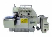 Máquina de Costura Industrial Overlock c/ Direct Drive BC75AT - Bracob