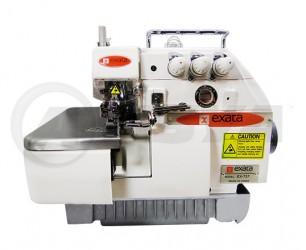 Máquina de costura Overloque/Overlock Industrial Exata EX-737 Completa com mesa e motor