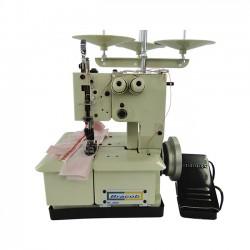 Máquina Galoneira 3 Fios Portátil BC2600-P Bracob 2 agulhas