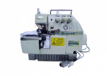 Máquina de Costura Industrial Tipo Overlock c/ Direct Drive BC73AT - Bracob