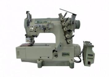 Máquina de Costura Galoneira Industrial Bracob BC 500 AT c/ Direct Drive