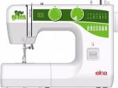 Máquina de costura doméstica Elna Sew Green,15 pontos