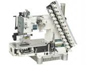 Elastiqueira Industrial 12 agulhas Base Cilíndrica c/ Catraca QB008-12064P-D Qingben - Yamata