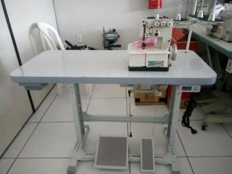 Galoneira Semi Industrial Bracob 3 agulhas-com mesa e motor