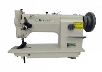 Máquina de costura Reta Industrial Transporte Triplo BC0628,1 agulha,lubri.automática,3000PPM-Bracob