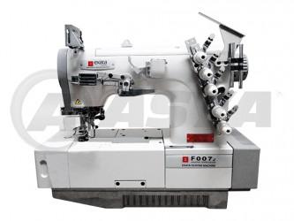 Máquina de costura Galoneira Industrial Exata F007J Completa