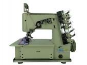 Máquina de costura Galoneira Bracob BC5000 Direct Drive completa com mesa