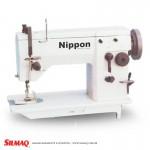 Máquina de Costura ZigZag 1 Agulha, 2 Fios Motor Convencional Lançadeira Standard NP-20U-63  NIPPON