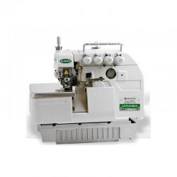 Máquina de costura Interloque Industrial 5 fios Zoje Bitola Média completa