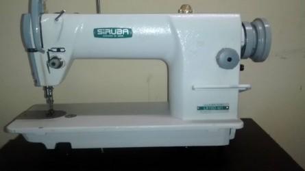 Reta Industrial Siruba +Overloque Industrial Modelo Siruba, com Bancadas
