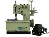 Máquina de Costura Tipo Galoneira Bracob 3 Agulhas Portátil c/ Motor Acoplado BC2600-3P 110V