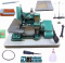 Reta Industrial Bracob + Galoneira Bracob 3 Agulhas + Overlock Semi Industrial