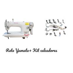 Reta Industrial Completa Siruba + Kit C/ 18 Calcadores