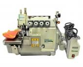 Máquina de Costura Industrial Overlock Bracob 900-4 AT 4Fios/2Agulhas/Transp. Duplo