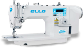 Máquina de costura Reta Industrial Eletrônica com corte de linha ELLO MODELO EL-9800BDI-04