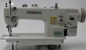 Máquina De Costura Reta Transporte Duplo, Direct Drive, Dente + Calcador 2000RPM - Mega Mak