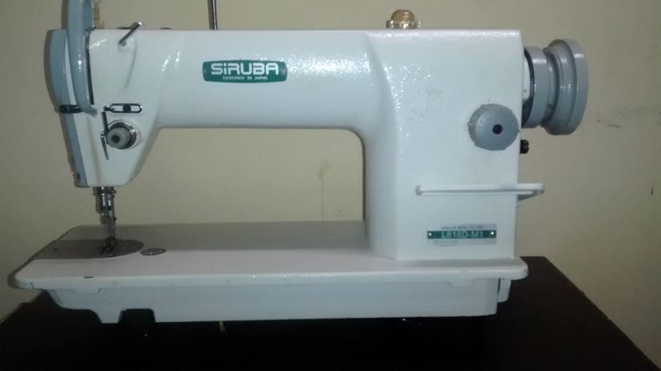 620573071 Reta Industrial Siruba +Overloque Industrial Modelo Siruba