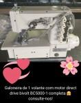 Galoneira Industrial SSBC5000-1,Motor Direct Drive,3 agulhas,5 fios-Sun Special